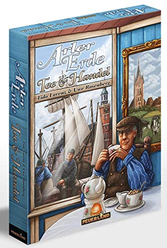 Feuerland Spiele 53008436 Erde: Tee & Handel (Feuerland Spiele 14)
