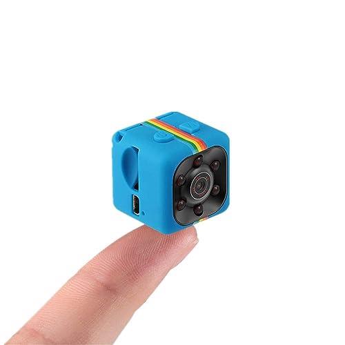 Caméra miniature SQ11 Sansnail, 1080p, HD, vision de nuit, bleu