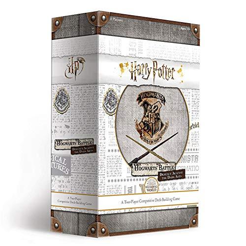 USAopoly Harry Potter Hogwarts Battle Defense Against The Dark Arts Deck Building Game