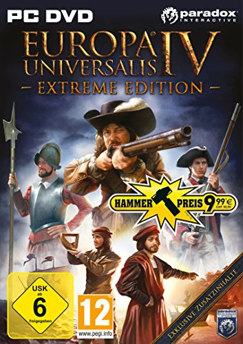 Europa Universalis 4: Extreme Edition Pc Dvd