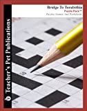 Bridge To Terabithia Puzzle Pack - Teacher Lesson Plans, Activities, Crossword Puzzles, Word Searches, Games, and Worksheets (Paperback)