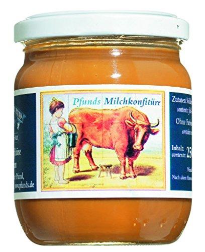 Pfunds Karamellcreme, Milchkonfitüre, Brotaufstrich (1 x 250g)