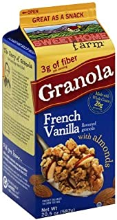 Sweet Home Farm, Granola With Almonds, French Vanilla (Pack of 2)