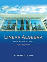 Best linear algebra with applications 8th edition Reviews