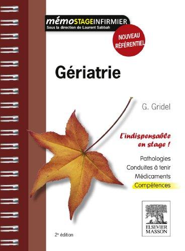 Gériatrie (Mémo stage infirmier)