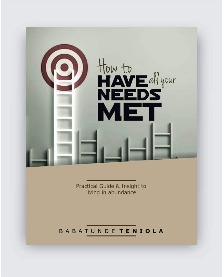 HOW TO HAVE ALL YOUR NEEDS MET: Practical Guide and Insight to Living in Abundance