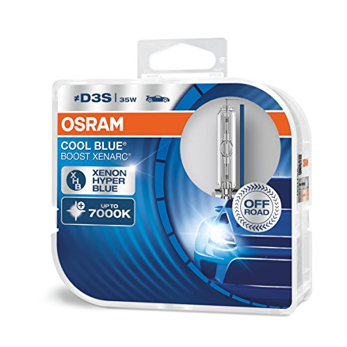 OSRAM XENARC Cool Boost D3S, HID headlamp, 66340CBB-HCB, Hyper Blue Light, 42V, 35W, Offroad-Only, duobox (2 Lamps), Set de 2