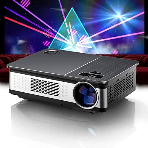 Proyector 4K, Proyector Portátil, 6800 Lúmenes, Nativo 1080p Full HD, Cine en Casa 200', Válido para Fire Stick TV, Google Chromecast, 90000 Horas, Compatible con PS5/PS4/PC/XBOX, Zoom Digital