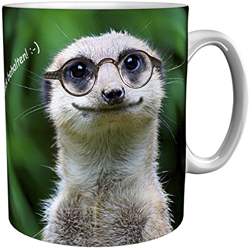 metALUm Kaffeetasse Erdmännchen # 330010063
