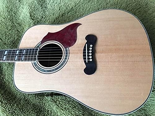 FKKLGNBDR Guitarra Guitarra Acústica De Guitarra No Cortada...
