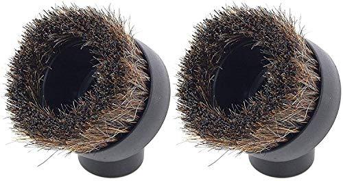 UTIZ Juego de 2 cabezales de cepillo redondo suave para aspiradora Numatic Henry Harry George Harry Hetty