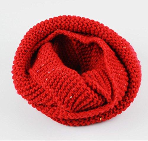 Winter Herfst Warm Verdikking breien Sjaal voor Kinderen, 2