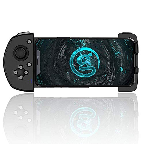 GameSir Mobile Game Controller G6, Mobile Gaming Touchroller, Wireless Mobile Gamepad Compatible with iPhone PUBG/Fortnite/Rules of Survival/COD Call of Duty