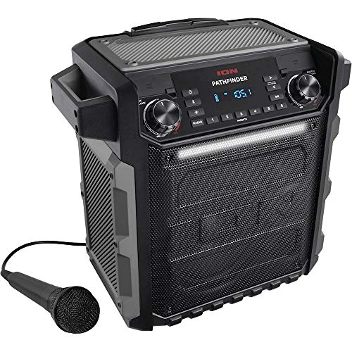 Ion Audio Pathfinder   High Power All-Weather Rechargeable Speaker (Renewed)