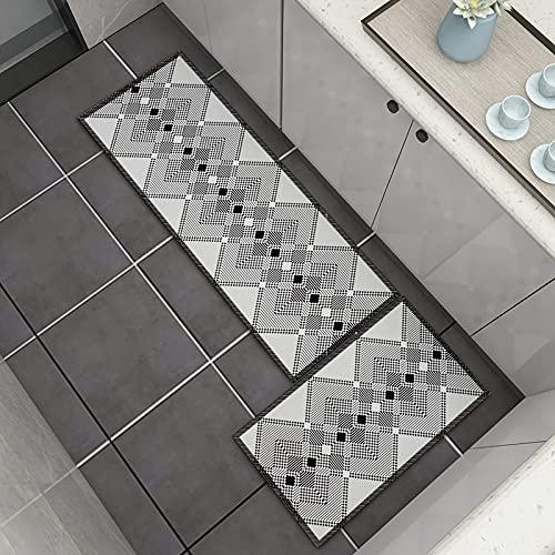 WuTongYu Alfombra Geométrica Impresa En 3D para El Comedor De La Cocina, Dormitorio En Casa, Baño, Pasillo, Alfombrilla, Material Antideslizante Resistente Al Desgaste, Lavable