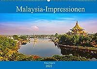Malaysia-Impressionen (Wandkalender 2022 DIN A2 quer): Entdeckungsreise durch ein multikulturelles Tropenland (Monatskalender, 14 Seiten )