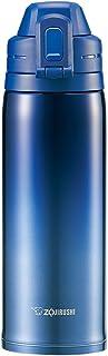 象印(ZOJIRUSHI) 不锈钢保温杯 一触式开启  0.82L 渐变蓝色 SD-ES08-AZ