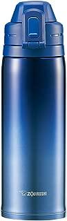 象?。╖OJIRUSHI) 不锈钢保温杯 一触式开启  0.82L 渐变蓝色 SD-ES08-AZ