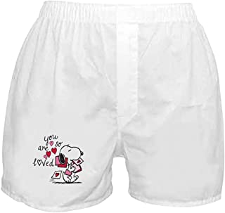 008d0f7b57 CafePress - Snoopy - You are So Loved - Novelty Boxer Shorts, Funny  Underwear