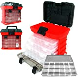 Stalwart 75-3182A 11' Rack System Tool Box with 4 Organizers
