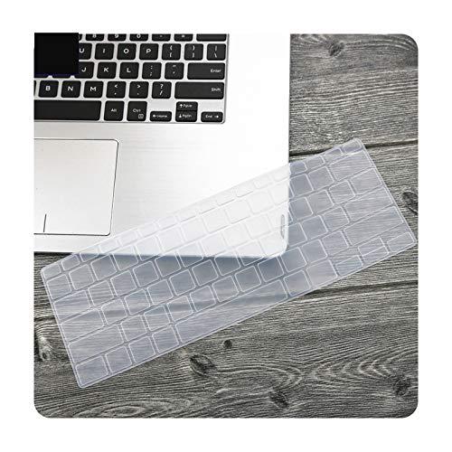 Funda protectora para teclado de ordenador portátil de 14 pulgadas para Asus Zenbook 14 UX433 UX433F Ux433Fn UX433FLC UX433FAC Ux433Fa-Clear