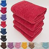Juego de toallas absorbentes, 100 % de algodón natural, hilado en anillos, 500...