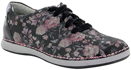 Alegria Womens Essence Walker Posh Silver Sneaker - 35