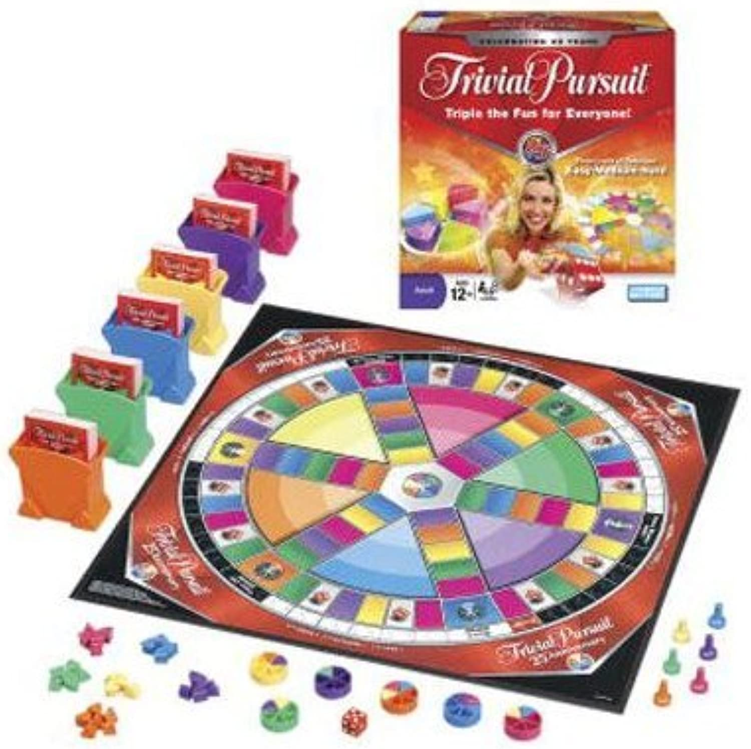 Trivial Pursuit 25th Anniversary Edition by Hasbro