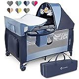 Lionelo Sven Plus boîte 2 en 1 lit bébé lit bébé table...