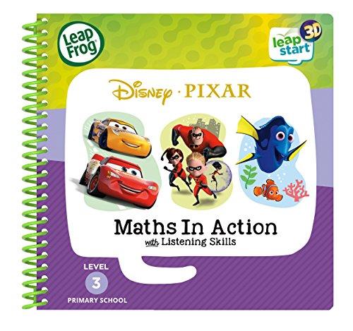 Leapstart Reception: Disney Pixar Maths in Action Activity Book (3D Enhanced)