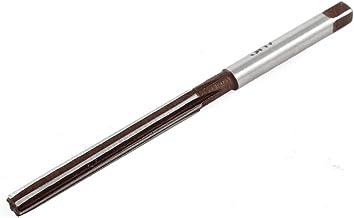 uxcell ハンドリーマーフライスカッター ルーター 5mmのカットダイヤ 6ロングフルート HSS 87mmの長さ