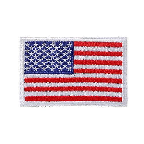 JERKKY Parche Bordado Bandera Americana