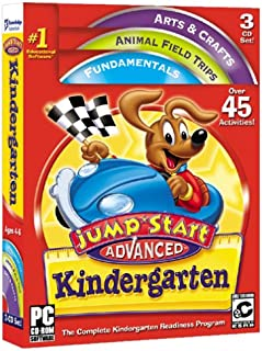 KNOWLEDGE ADVENTURE JumpStart Advanced Kindergarten (Windows/Macintosh)