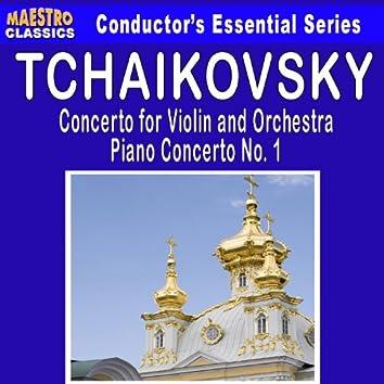Tchaikovsky: Violin Concerto in D Major - Piano Concerto No. 1