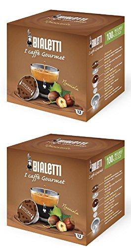Bialetti Capsule Espresso Nocciola 24 Conteggio