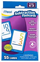 [ミード]Mead Subtraction Flashcards, 55 Cards, Grades K3 63040 [並行輸入品]