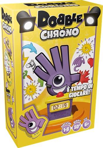 Asmodee - Dobble Chrono, Gioco da Tavolo per Tutta la Famiglia, Edizione in Italiano, 8241