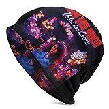 Ninja Sex Party Skull Caps Sombrero de punto para adultos Casual Unisex Moda cálido Sombrero Suave Cómodo Invierno Negro