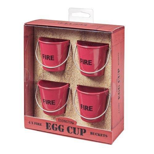 Eddingtons Feu Baquets Coquetiers - Set De 4 Rouge