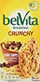 Belvita Crunchy Chocolate Chip Breakfast Biscuits 150 g (Pack of 10)