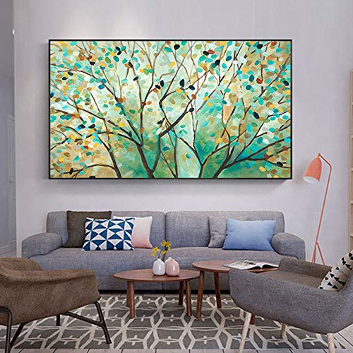 zgldx73 Schöner Landschaftsplakatdruck des modernen Leinwand-Ölgemäldeplakats30x50cm (kein Rahmen)