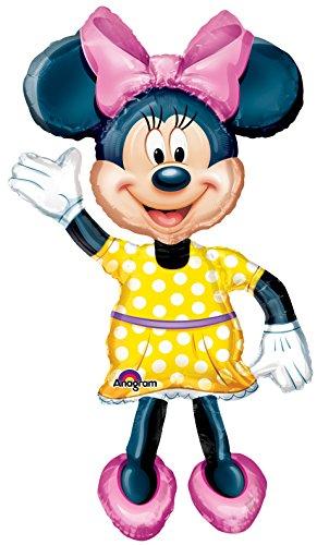 Unbekannt Anagram 0831901 Ballon Gonflable Disney Minnie Mouse 96 x 137 cm