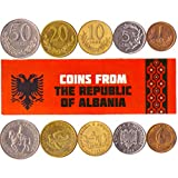 ✅ A LIMITED EDITION - Get a coin bag with 5 rare, collectible coins from the Republic of Alabania. Each pack may have different combinations of coins, from 1 lek to 50 leke. ✅ VALUABLE PIECES OF GHANIAN HISTORY - Our coins collection includes real pi...