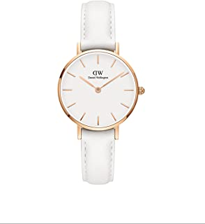 Daniel Wellington Petite Bondi Watch, Italian White Leather Band