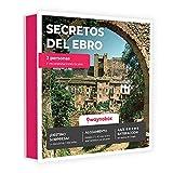 Caja Regalo - ¡Escapada Secretos del Ebro para Dos! - con hoteles y Casas Rurales con Encanto - El Mejor Cofre de experiencias para Regalar