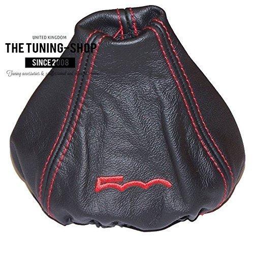 2007–2015 manuell Schaltsack schwarz Leder mit Rot 500 Edition