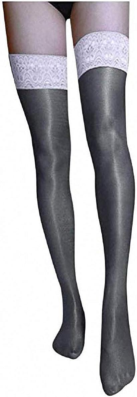 Women Thigh-High Glitter Shiny Glossy Pantyhose Panty Tights Stockings LadySocks