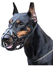 Z-PET Protector De Hocico For Perros Conjunto De Boca De Cesta De Plástico Ajustable Y Cómodo Ajuste Seguro Evita Morder, Masticar Y Ladrar Hocico (Size : XL)