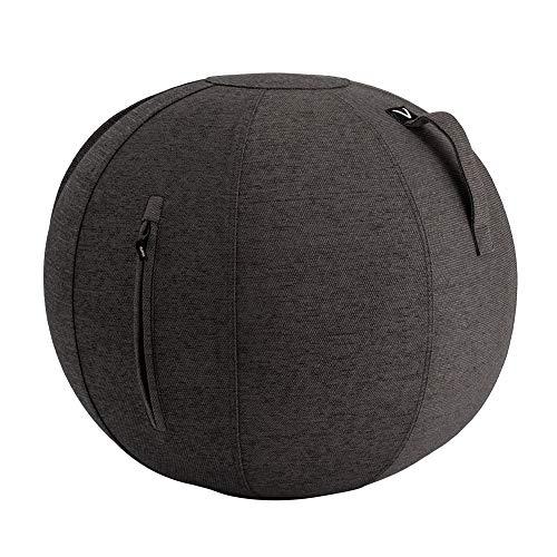 [ ビボラ ] Vivora シーティングボール ルーノ シェニール 65cm チャコールグレー V002-BW65-DKG Luno Pacific Chenille ヴィヴォラ バランスボール 椅子 デザイン ソファー 姿勢 オフィス 軽量 インテリア