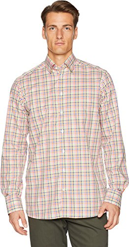 Eton Herren Hemd Contemporary Fit Multi Check - mehrfarbig - 44